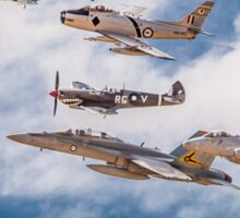 RAAF History Flight Formation Sticker