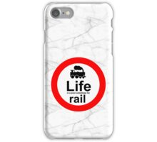 Rail v Life - Marble iPhone Case/Skin