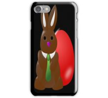 Chocolate Easter Bunny Egg iPhone Case/Skin