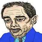 Alex Salmond Funny Cartoon Caricature 2 by Grant Wilson