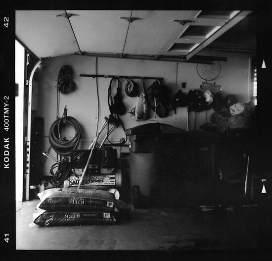 Garage Film Photograph by andrewbutte