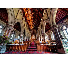 Marble Church Interior Photographic Print