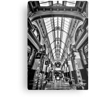The Block Arcade Metal Print