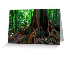 The Forest Giant Greeting Card