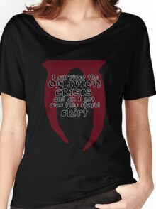 Oblivion Crisis T-shirt Women's Relaxed Fit T-Shirt