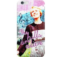 The Hills are Alive.. The Sound of Music iPhone Case/Skin