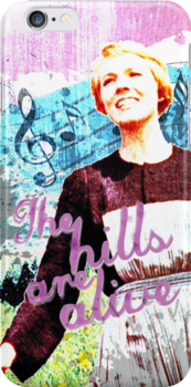 The Hills are Alive.. The Sound of Music by Renny Roccon