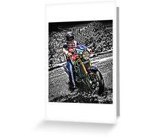 Ducati Style Greeting Card