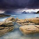 Isle of Skye : Elgol Drenching by Angie Latham