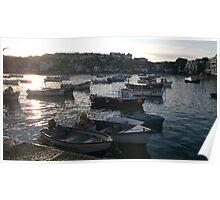 St Ives Cornwall, UK Poster