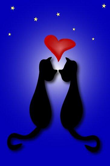 Cat's Romance by patjila