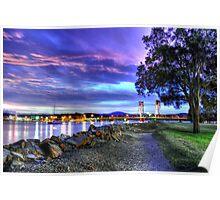 Sundown at Batemans Bay Poster
