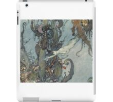 Gothic Mermaid Fantasy  iPad Case/Skin