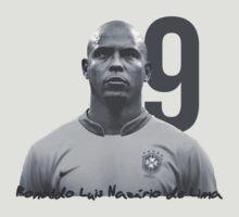 Ronaldo Luis Nazário de Lima by okankokku