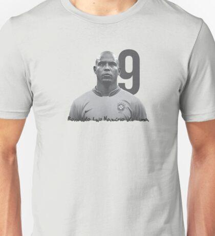 Ronaldo Luis Nazário de Lima Unisex T-Shirt