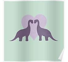 Prehistoric Love sans text Poster