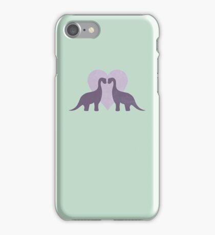 Prehistoric Love sans text iPhone Case/Skin
