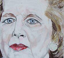 Margaret Thatcher by horacecornflake