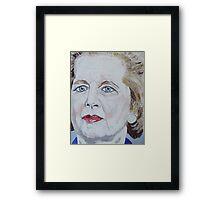 Margaret Thatcher Framed Print
