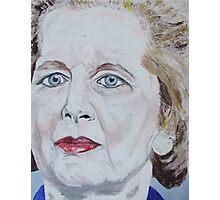 Margaret Thatcher Photographic Print
