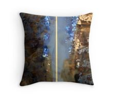 Abstract Reflection 2 Throw Pillow