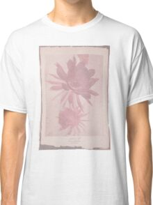Doctor Who Flower Bloom t-shirt Classic T-Shirt