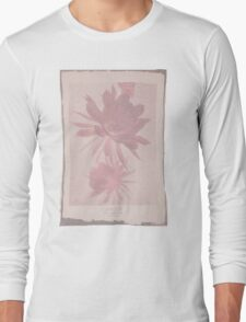 Doctor Who Flower Bloom t-shirt Long Sleeve T-Shirt