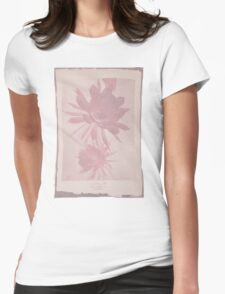 Doctor Who Flower Bloom t-shirt Womens Fitted T-Shirt