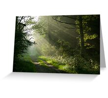 The Path to Nowhere Greeting Card
