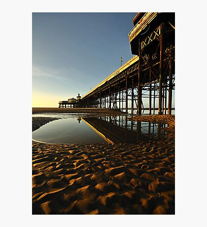 North Pier Reflections Photographic Print