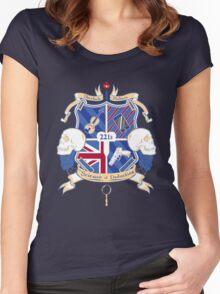 Sherlock's School of Deduction Women's Fitted Scoop T-Shirt