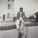 My mom bicycling 70 years ago...&-3500 visualizzaz.agosto 2013 --VETRINA RB EXPLORE 27 GENNAIO 2012 --- by Guendalyn