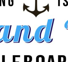 Strong Island SUP Sticker