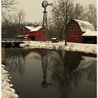 A winter scene in Indiana..(Cyberspace is no place for the real world...Plastic minds got no soul..Electric hearts beat in time on the last day..They can't see any way) by jammingene