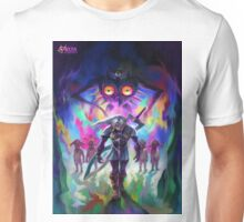 Majora's mask 3D Unisex T-Shirt