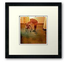 Speed. NYC Framed Print