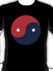 American Yin Yang T-Shirt