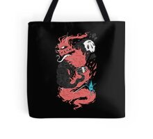 Death Of The Fire Demon Tote Bag