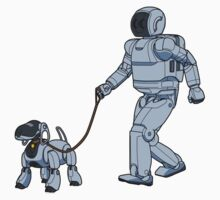 A Robot's Best Friend Kids Clothes