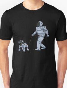 A Robot's Best Friend Unisex T-Shirt