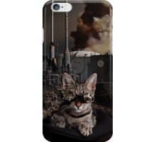 Steampunk Sid Kitten Overlord iPhone Case/Skin