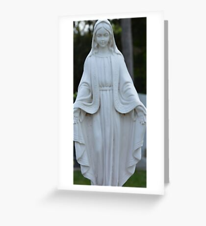 MARY FULL OF GRACE Greeting Card