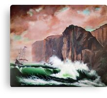 Ship Aground Canvas Print