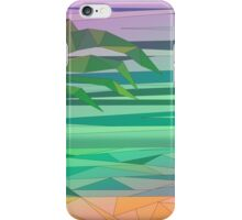 dream island in the middle of the ocean iPhone Case/Skin