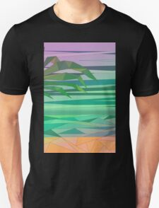 dream island in the middle of the ocean Unisex T-Shirt
