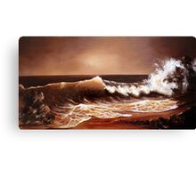 Caramel Coast Canvas Print