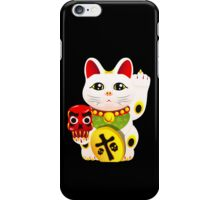 Maneki neko f u iPhone Case/Skin