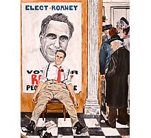 Romney's Fate: Election 2012 Photographic Print