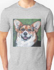 Pembroke Welsh Corgi Fine Art Painting T-Shirt