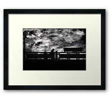 At the 125th Street Station Framed Print